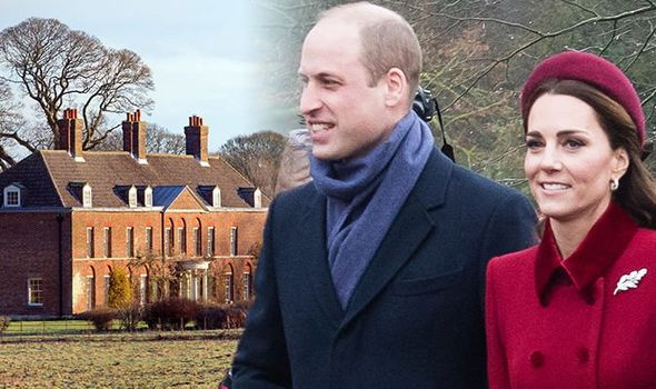 Anmer Hall Kate Middleton and Prince William visit their Norfolk home after moving back to London Image GETTY