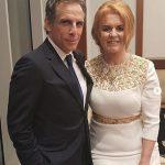 Ben Stiller and Sarah Ferguson pictured make the most unusual of celebrity friendships