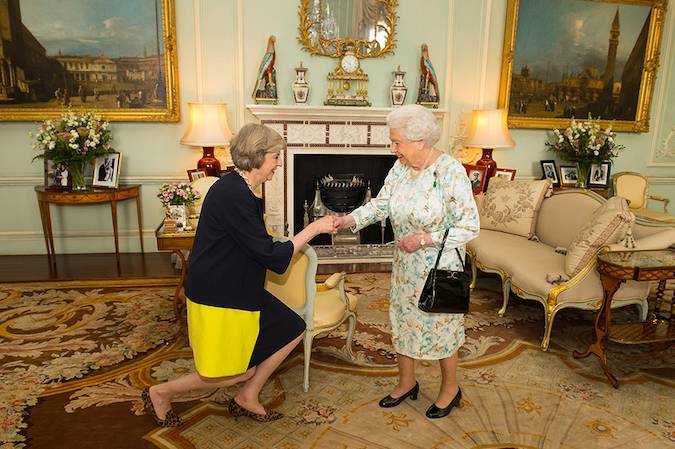 By law the Queen is entitled and well within her rights to vote There is nothing written in British law Photo C GETTY IMAGES