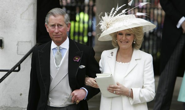 Charles and Camilla may also choose not to attend Lady Gabriellas wedding Image GETTY 2