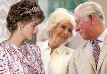 Charles gravitated towards older women before marrying Diana Image Getty