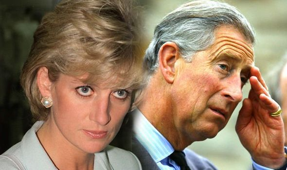 Claims Princess Diana would 'HIT Charles over the head during his bedtime prayers Image Getty