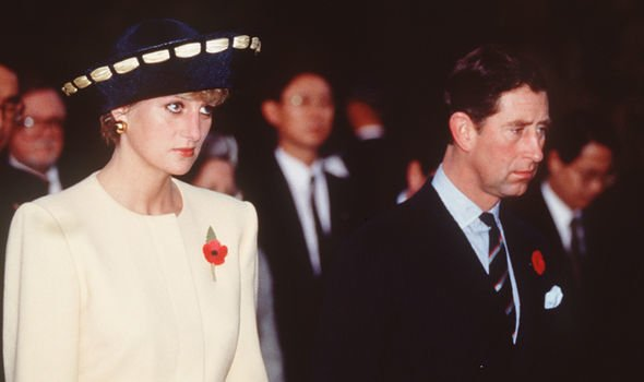 """Diana described her """"deep profound sadness"""" after her separation with Charles in 1992 Image GETTY"""