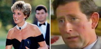 """Diana stepped out in a """"flirty little black dress"""" the night Charless documentary aired Image GETTY ITN"""