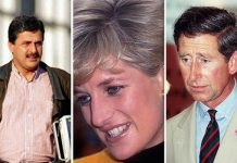 Hasnat Khan and Princess Diana began seeing each other in 1995 Image Getty
