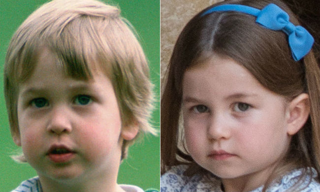 Princess Charlotte is identical to Prince William in new unearthed photo Photo C GETTY IMAGES