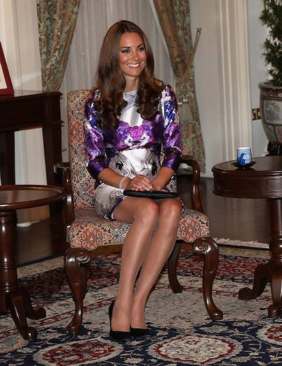 How to sit like a royal Photo C GETTY IMAGES