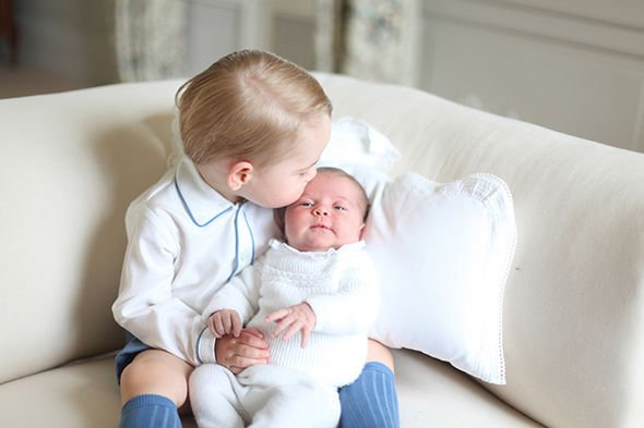 Inside Anmer Hall Pictures of Prince George and Princess Charlotte were released in 2015 Image GETTY