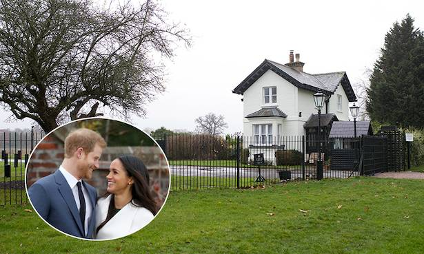 Is this what Prince Harry and Meghan Markles house will look like Photo C GETTY IMAGES