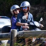James Middleton and his new girlfriend were spotted taking a moped to the beach together while on holiday in St Barts on Thursday