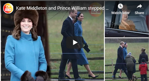 Kate Middleton and Prince William stepped out in public for the first time this year at church