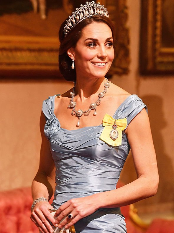 Kate Middleton is also known as Baroness Carrickfergus Image GETTY