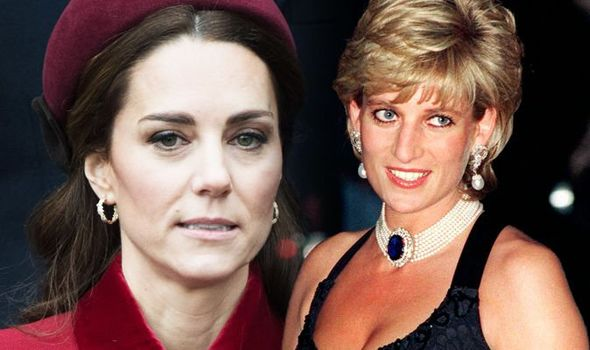 Kate Middleton news Princess Diana 'never had' something Prince William's wife has now Image GETTY