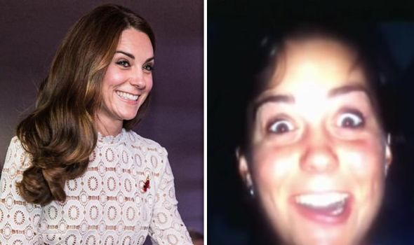 Kate Middleton reportedly flashed her bottom at the boys out of the window during her college days Image GETTY BIO