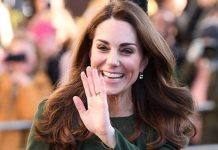 Kate was launching the charitys new FamilyLine for parents and carers struggling at home Image Karwai Tang WireImage