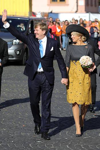 King Willem Alexander and Queen Maxima of the Netherlands Photo C GETTY IMAGES