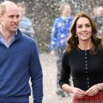 Last year the Duchess was heavily pregnant with Louis during her birthday Image Getty