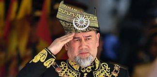 Malaysias King Muhammad V abdicated on Sunday Image GETTY