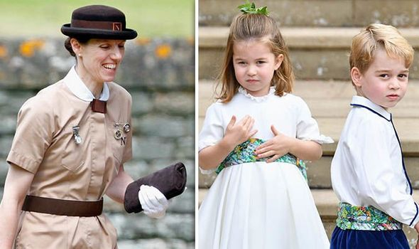 Maria Borrallo is Prince George and Princess Charlottes royal nanny Image GETTY
