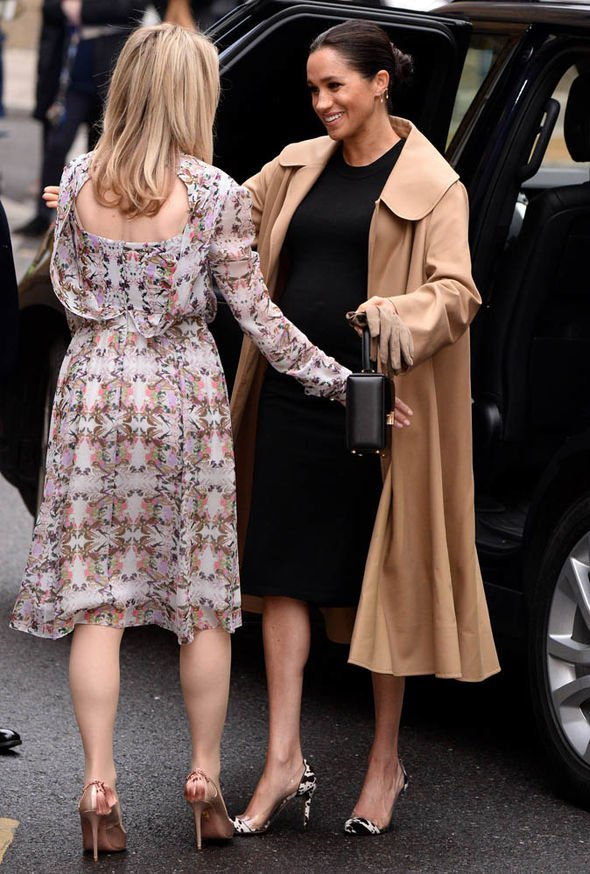 Meghan Markle arrives as Smart Works after being confirmed as patron Image GETTY