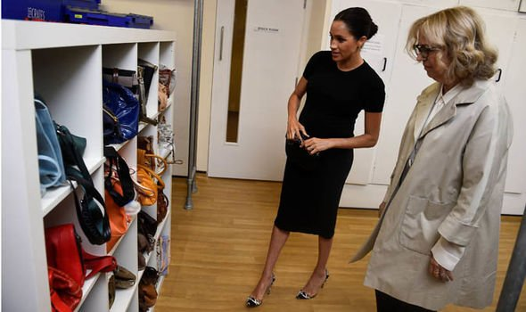 Meghan Markle has been visiting Smart Works for about a year privately Image REUTERS