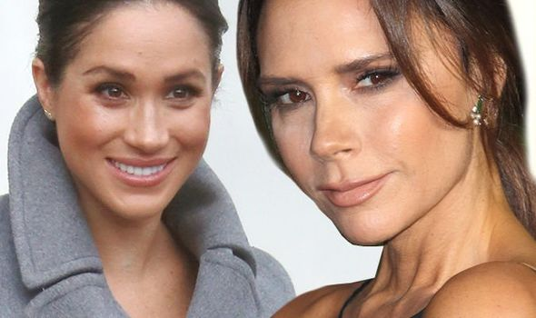 Meghan Markle has bonded with Victoria Beckham over her pregnancy Image Getty