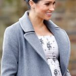 Meghan Markle is due to give birth in the spring Image GETTY