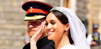 Meghan Markle joined the royal family in 2018 when she married Harry Image GETTY