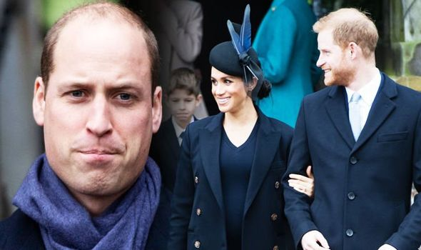 Meghan Markle news Prince William latest body language analysed by an expert Image GETTY