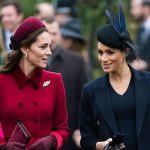 Meghan Markle news the Duchess of Sussex and Cambridge take a friendly stroll in Norfolk Image GETTY
