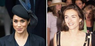Meghan Markle revealed Elizabeth Hurley was her Image GETTY
