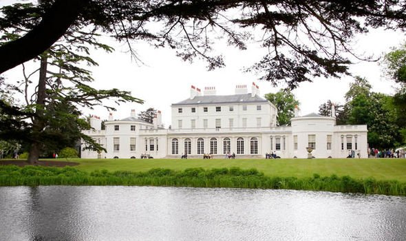 Meghan Markle royal baby Frogmore House Image Getty