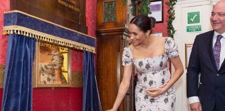 Meghan Markle said she was feeling very pregnant during a recent royal engagement Image GETTY 01