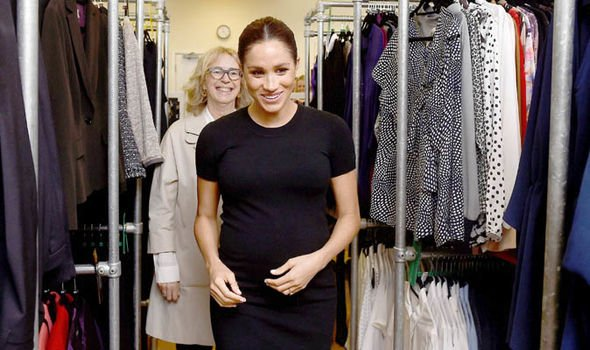 Meghan Markle scours the rails for an outfit at Smart Works Image PA