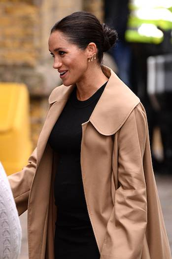 Meghan Markle turns stylist in first royal patronage visit Photo C GETTY IMAGES 02