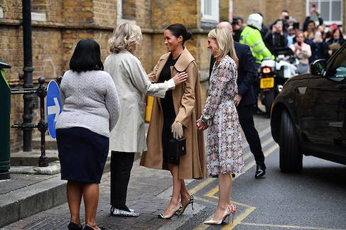 Meghan Markle turns stylist in first royal patronage visit Photo C GETTY IMAGES 03