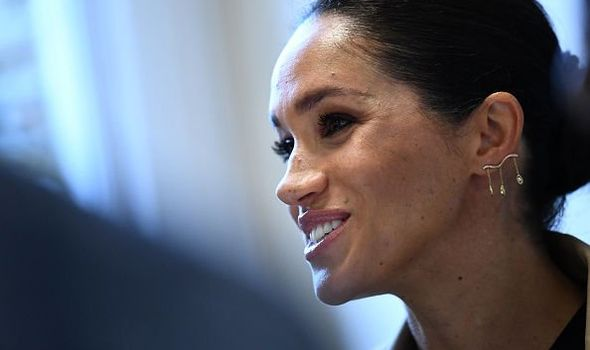 Meghan Markle unflinchingly continues to take on an increasing number of royal engagements Image GETTY