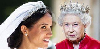 Meghan Markle wedding Secret Queen tribute revealed in latest news Image GETTY