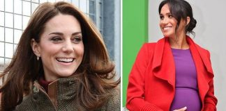 Meghan Markles pregnancy could put an end to the feud with Kate it was claimed Image GETTY