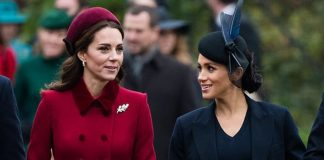 Meghan and Kate have been rumoured not to get along Image GETTY