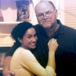Meghan and her father Thomas Markle in happier times Image INSTAGRAM