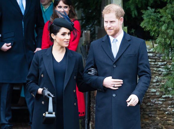 Meghan is expecting her first child with Harry Image GETTY 01