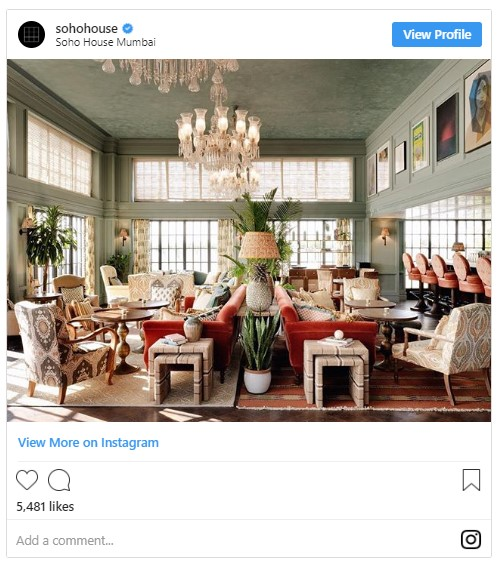 Meghan reportedly wants her new home to look like Soho House Photo C INSTAGRAM 01