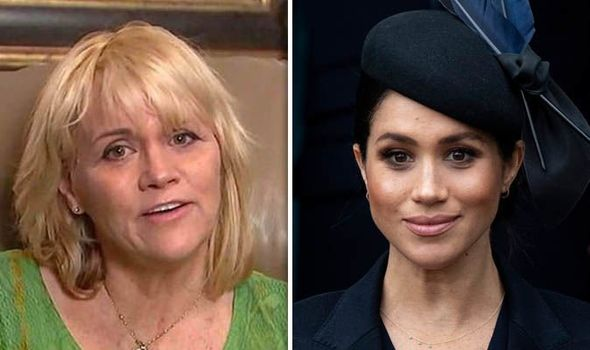 Meghans half sister Samantha Markle said she has faced online abuse Image GETTY ITV