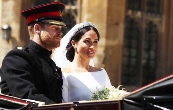 Mr Markle said he has not spoken to Meghan since she married Harry Image GETTY