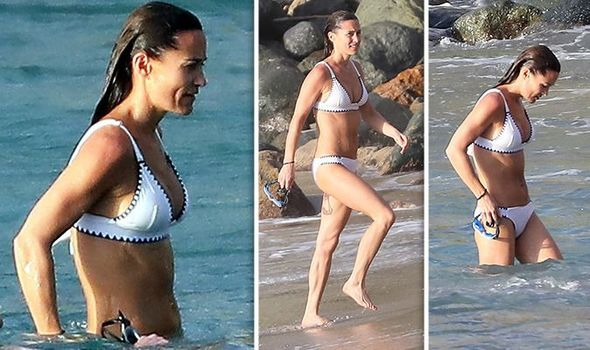 Pippa Middleton enjoys the summer sunshine in St Barts Image SPLASH