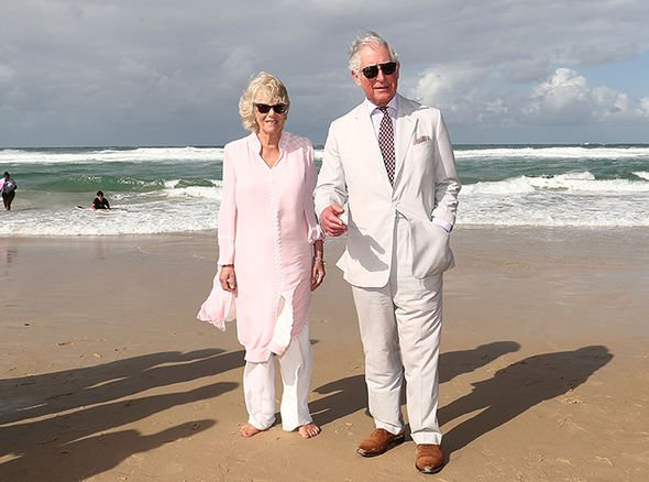 Prince Charles and Camilla clocked up the cost during their visit Image Getty