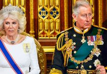 Prince Charles and Camilla in Buckingham Palace Photo C GETTY