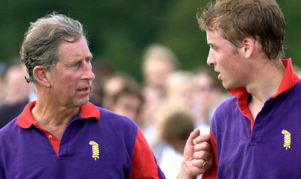 Prince Charles and Prince William Image Getty
