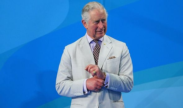 Prince Charles pictured at theCommonwealth Games last year Image Getty